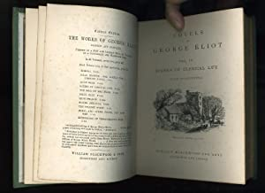 SCENES OF A CLERICAL LIFE - (VOL IV) & SILAS MARNER (VOL III): NOVELS OF GEORGE ELIOT two volumes...