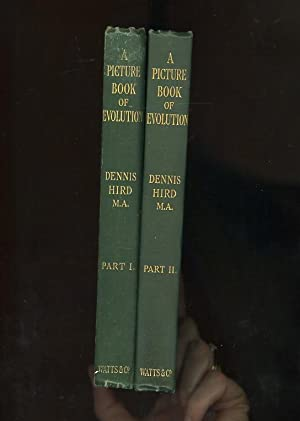 A PICTURE BOOK OF EVOLUTION Part I (SIGNED & INSCRIBED by the author) & Part II (1906-7) - Comple...