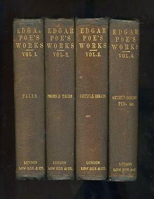 EDGAR ALLAN POE: THE WORKS. THE FIRST: Edgar Allan Poe
