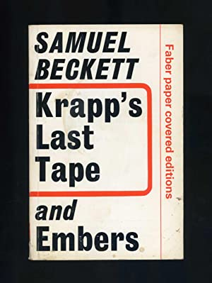 Image result for beckett krapp''s last tape and embers faber editions