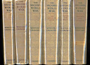 THE SECOND WORLD WAR: Complete Set of: Winston S. Churchill