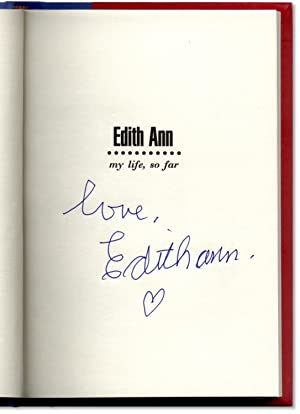 Edith Ann: My Life, So Far.: TOMLIN, Lily and Jane Wagner.
