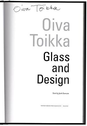 Oiva Toikka Glass and Design.: TOIKKA, Oiva. Text by Jack Dawson.
