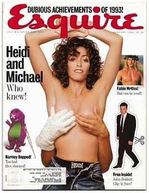 Esquire Volume 121 No. 1.: KOSNER, Edward, Editor.