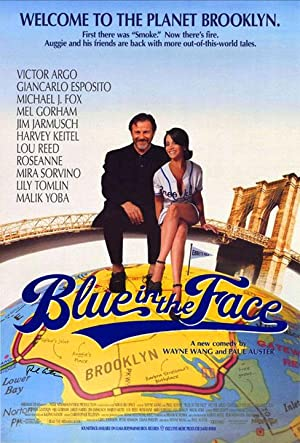 Blue in the Face. Film Poster.