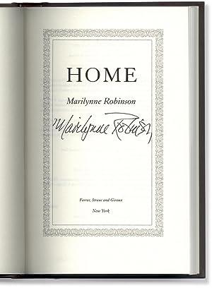 Home.: ROBINSON, Marilynne.