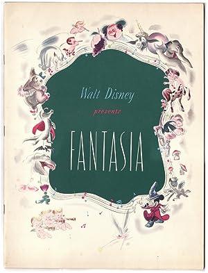 Walt Disney Presents Fantasia in Technicolor and: DISNEY, Walt. Leopold