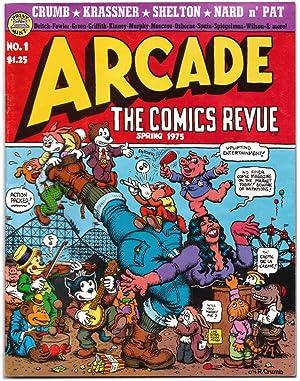 Arcade: The Comics Revue No. 1 Spring: Crumb, Robert, Art