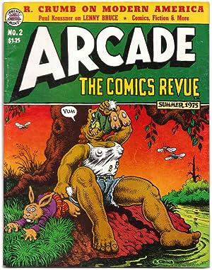 Arcade: The Comics Revue No. 2 Summer: Art Spiegelman, Paul