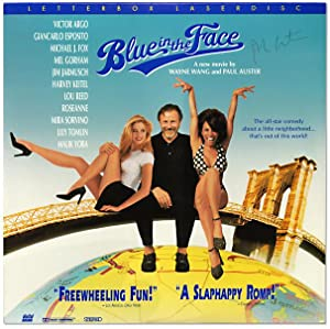 Blue in the Face. (Laserdisc Film): AUSTER, Paul. Directed