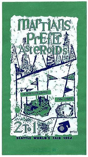 Martians Prefer Asteroids 2 to 1: Seattle: Gretta. Seattle World's