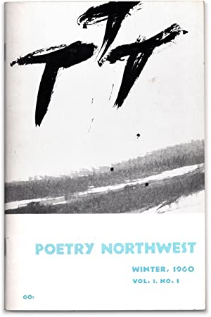 Poetry Northwest. (Winter, 1960) Vol. 1, No.: KIZER, Carolyn, Nelson