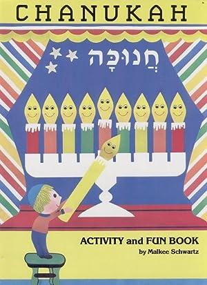 Chanukah Activity And Fun Book: SCHWARTZ Malkee