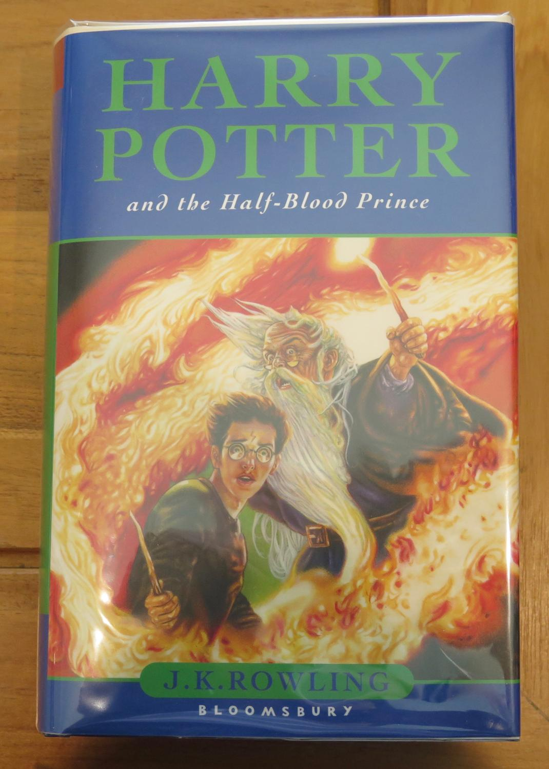 Harry Potter Book Kickass : Harry potter and the half blood prince children s edition