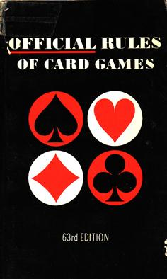 Official Rules of Card Games: United States Playing