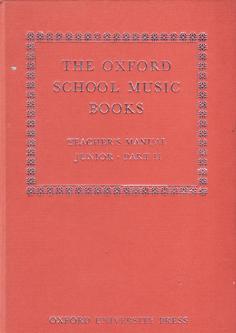 The Oxford School Music Books - Teacher's: Roger Fiske and