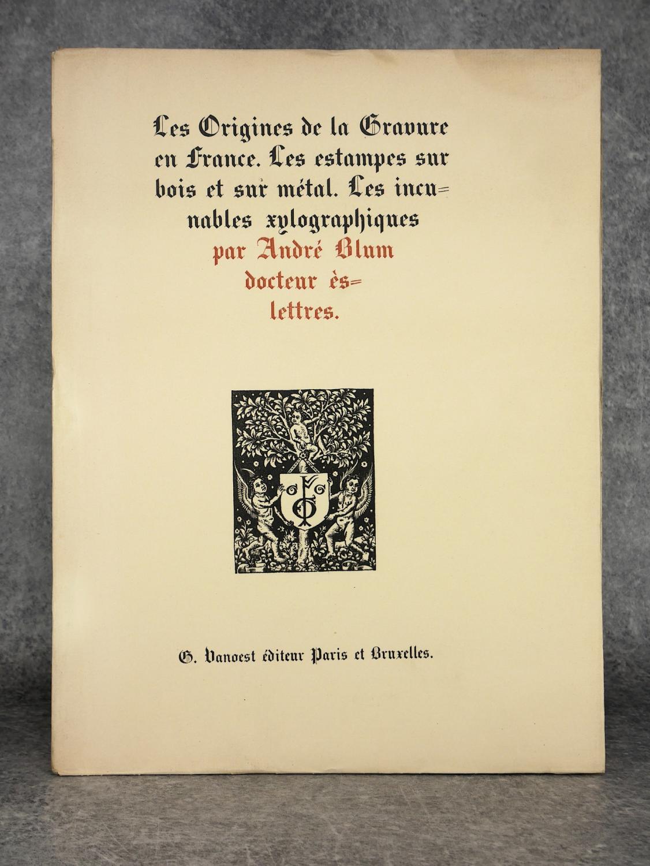 Les Origines De La Gravure En France Les