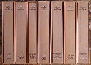 LES COMEDIES. TRADUITES PAR SUZANNE BING &: SHAKESPEARE WILLIAM. (1564-1616).