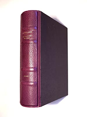 LES FLEURS DU MAL. LITHOGRAPHIES ORIGINALES DE: BAUDELAIRE CHARLES. (1821-1867).