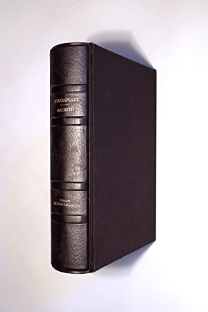 MACBETH. TRADUIT PAR SUZANNE BING ET JACQUES: SHAKESPEARE WILLIAM. (1564-1616).