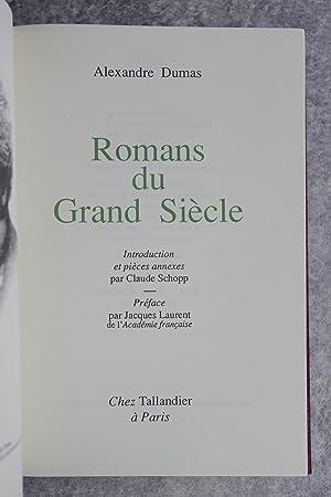 ROMANS DU GRAND SIECLE. INTRODUCTION ET PIECES ANNEXES PAR CLAUDE SCHOPP. PREFACE PAR JACQUES ...