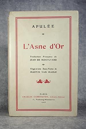 LES METAMORPHOSES OU L'ASNE D'OR DE LUCE: APULEE. (APULIUS LUCIUS.