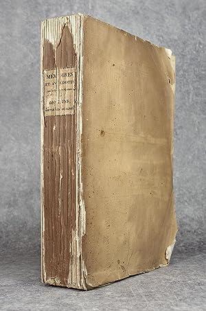 MEMOIRES ET ANECDOTES SUR LA DYNASTIE REGNANTE: TITSINGH ISAAC. (1745-1812).