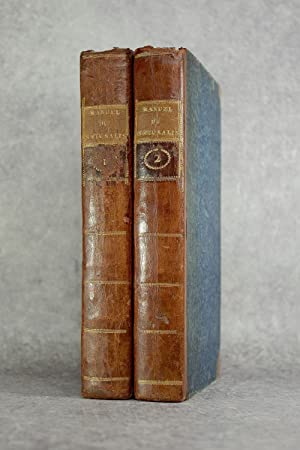 MANUEL DU NATURALISTE, OU DICTIONNAIRE D'HISTOIRE NATURELLE,: VALMONT-BOMARE. (JACQUES-CHRISTOPHE VALMONT