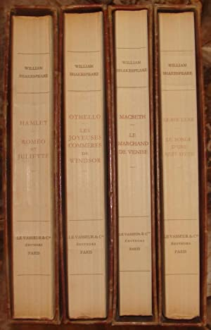THEATRE. ILLUSTRATIONS DE D.-H. PONCHON.: SHAKESPEARE WILLIAM. (1564-1616).