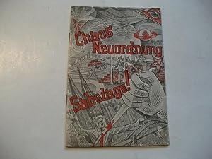 Chaos, Neuordnung, Sabotage!: Trenkel, Ed.