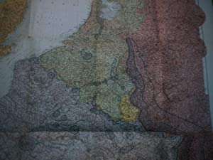 Unsere Westgrenze.: Landkarte.
