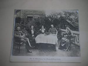 Der 70. Geburtstag des Generalfeldmarschalls. Der Generalfeldmarschall im Kreise seiner Familie ...
