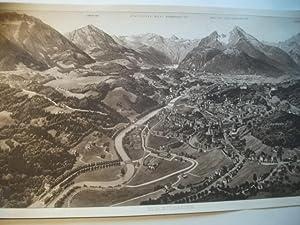 Berchtesgarden.: Panoramakarte