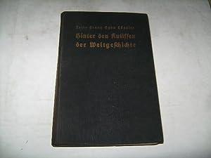 Hinter den Kulissen der Weltgeschichte. Biologische Beiträge: Lützeler, Felix Franz