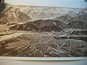 Füssen (Bayr. Allgäu).: Panoramakarte