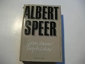 Spandauer Tagebücher.: Speer, Albert