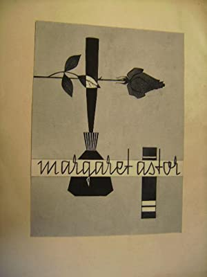 Originalentwurf zu einem Parfüm. Mahgaret Astor.: Heck, Otrud.