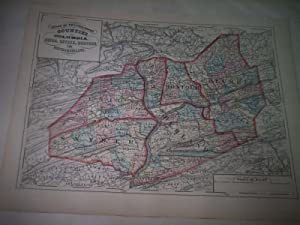 Columbia, Union, Snyder, Montour and Northhumberland. Counties of Pennsylvania.