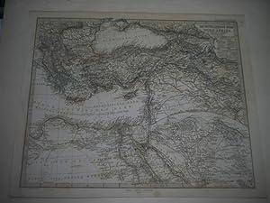 Das Mittelländische Meer und Nord-Africa (Östl. Blatt)