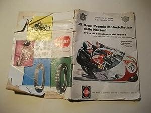 35 Gran Premio Motociclstico delle Nazioni prova di campionato del mondo.: Rennsport