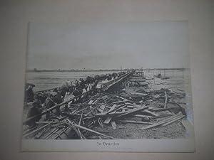In Venezien. Verkehr auf der Brücke über den Tagliamento.: Pressefoto/ Propagandafoto/...
