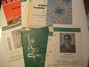 von 10 Heften, Veröffentlichungen der Liga der Arabischen Staaten - Kairo.: Sammlung