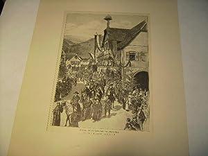 Festzug bei der Jubelfeier in Alpirsbach.: Liebich, C.