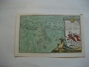 Plan der Batalje voorgevallen by Mons en Maubeuge den 11. Sept. 1709.: Militaria