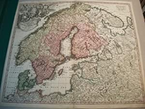Scandinavia complectens Sueciae, Daniae & Norvegiae Regna.: Landkarte