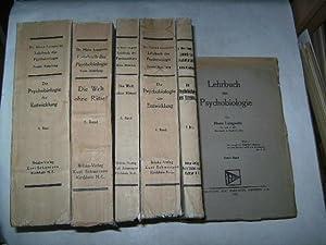 Lehrbuch der Psychobiologie. 6 Bände.: Lungwitz, Hans