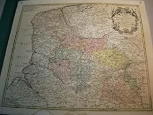 Carte d'Artois et des environs vel mappa specialis comitatus artesiae: Landkarte