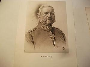 v. Hindenburg.: Porträt
