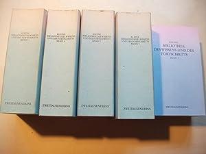 Kleine Bibliothek des Wissens und des Fortschritts. 5 Bände.: Busch, G�nther u. R�tters, Axel ...