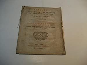 Testamenti signati et subscripti a testibus in involucro.: Boehmero, Georgio Ludovico